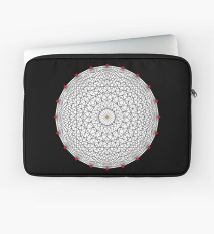 20 Points on a circle Laptop Sleeve