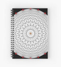 20 Points on a circle Spiral Notebook
