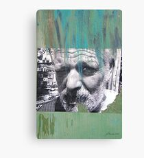 Face of Bisbee Canvas Print
