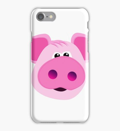 Big Pink Piggy! iPhone Case/Skin