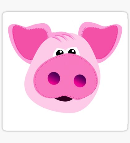 Big Pink Piggy! Sticker