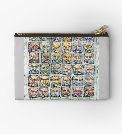 Faces - Brianna Keeper Paintings Zipper Pouch