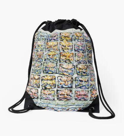 Faces - Brianna Keeper Paintings Drawstring Bag