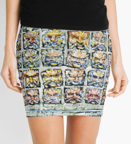 Faces - Brianna Keeper Paintings Mini Skirt