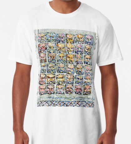 Faces - Brianna Keeper Paintings Long T-Shirt