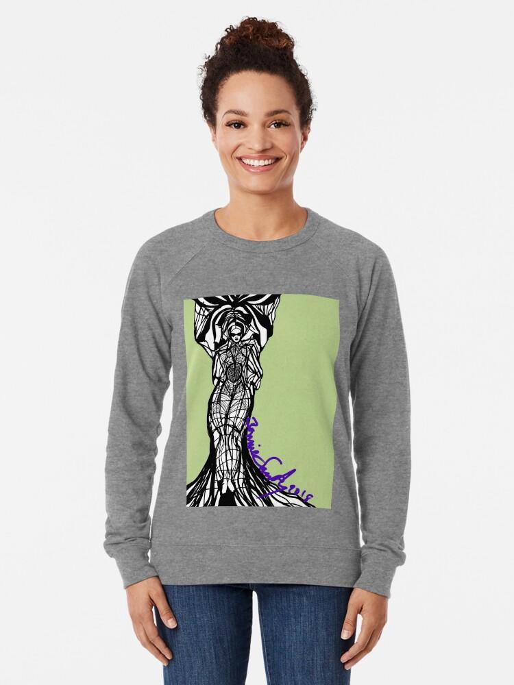 Alternate view of Woman Within3 Lightweight Sweatshirt
