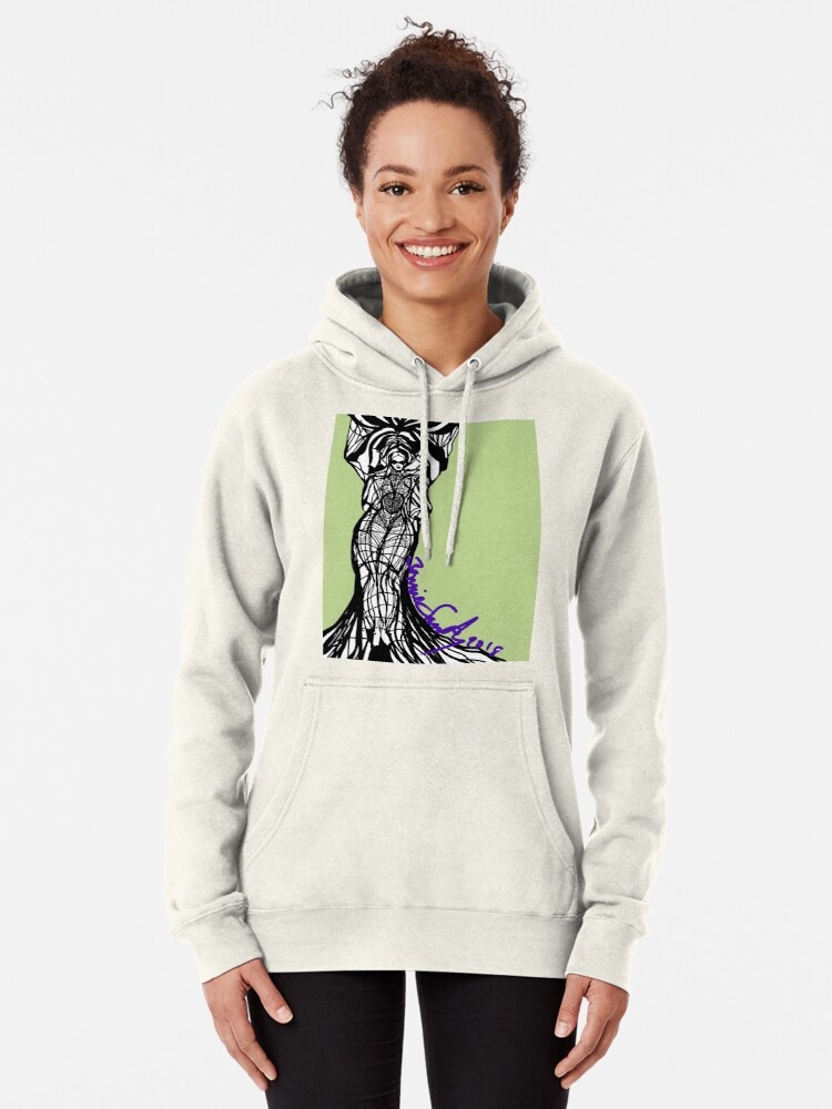 Alternate view of Woman Within3 Pullover Hoodie