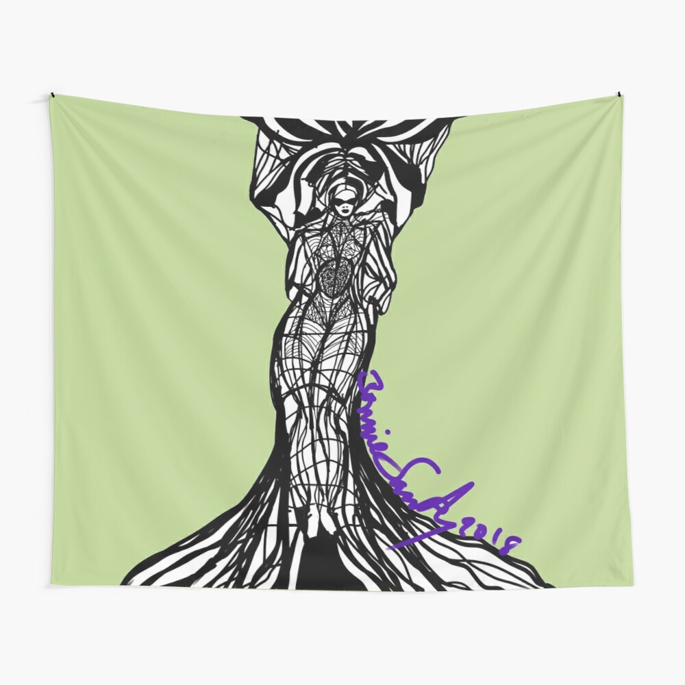 Woman Within3 Wall Tapestry