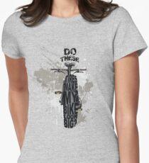 Fat bikers unite! Women's Fitted T-Shirt