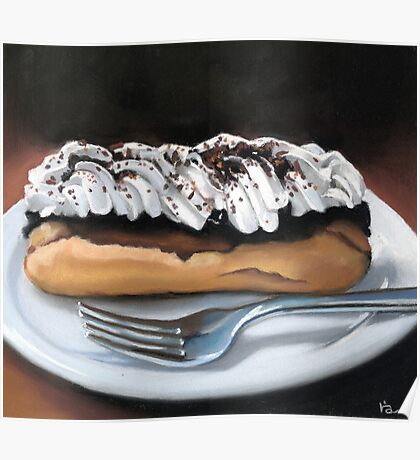 chocolate eclair Poster