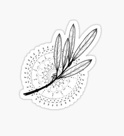 Aura Botanica 3 Sticker