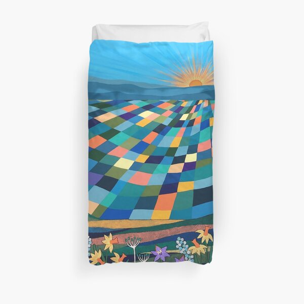 Bright Sun Shiny Day Duvet Cover