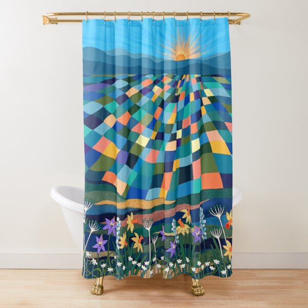 Bright Sun Shiny Day Shower Curtain