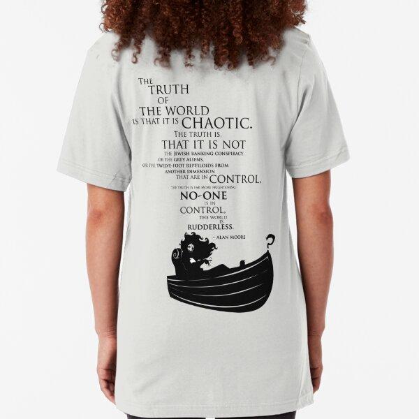 A rudderless universe Slim Fit T-Shirt