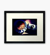 Coffee. Lomography Framed Print