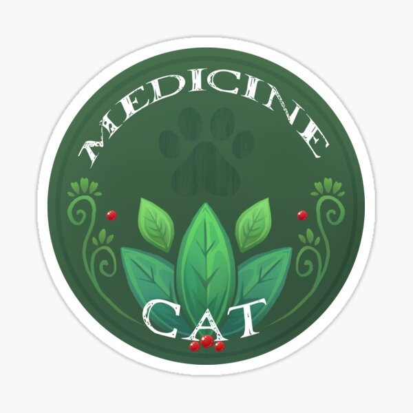 Official Medicine Cat Sticker