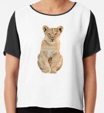Baby lion illustration  Chiffon Top