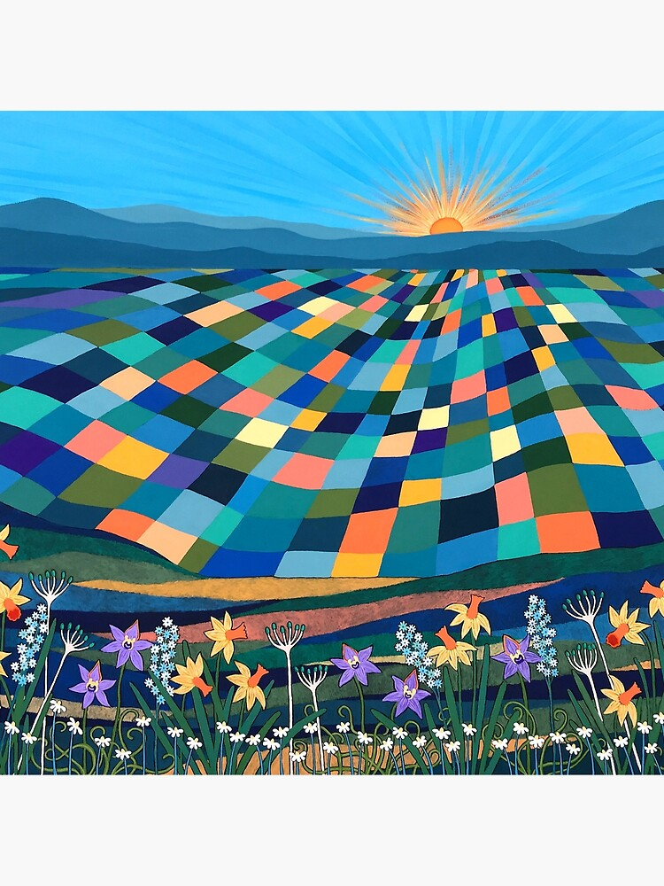 Bright Sun Shiny Day by Lisafrancesjudd