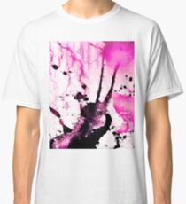 Hot Pink Abstract Painting  Classic T-Shirt