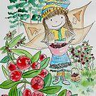 Cassidy - Guava Gathering Fairy  by Amanda  Hazlett