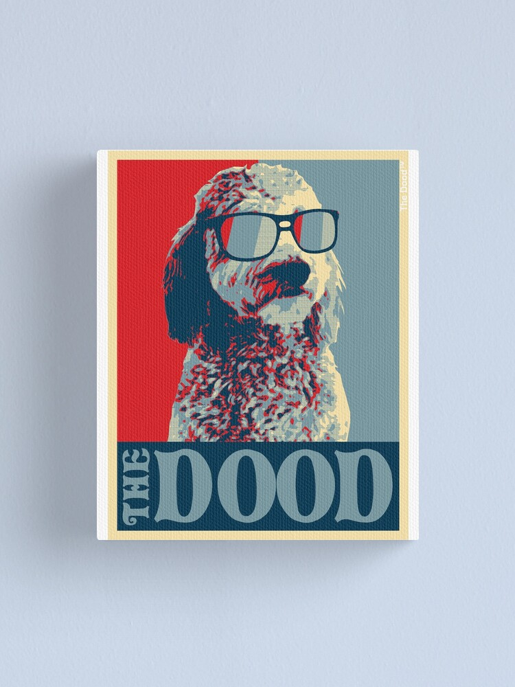 Alternate view of The Dood Goldendoodle Collection Canvas Print
