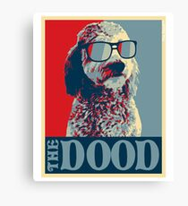 The Dood™ Goldendoodle Collection Canvas Print