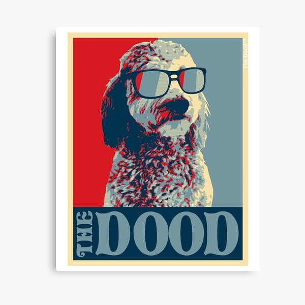 The Dood Goldendoodle Collection Canvas Print