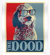 Das Dood Goldendoodle Poster