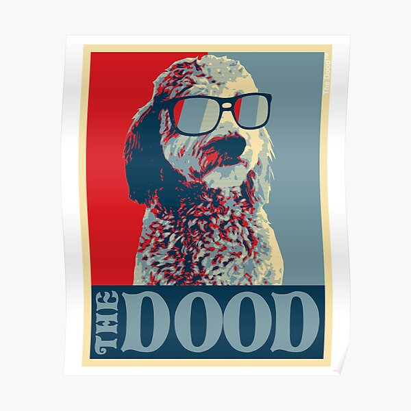The Dood Goldendoodle Collection Poster