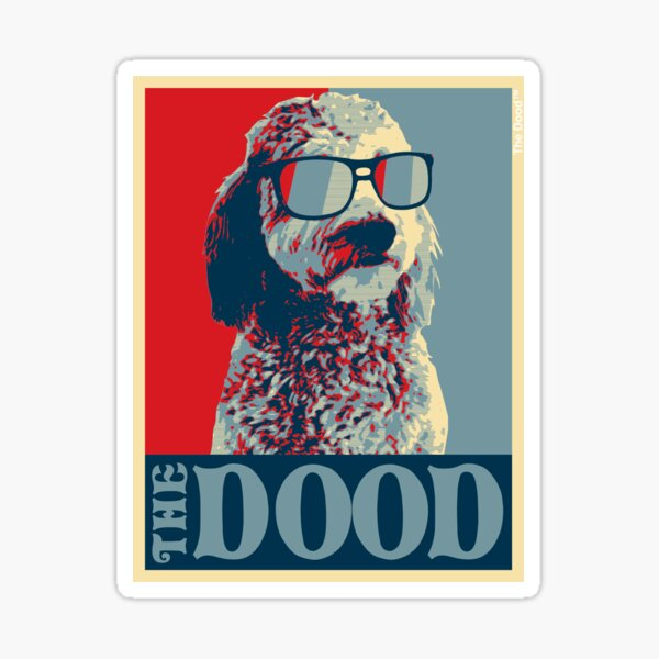 The Dood Goldendoodle Collection Sticker