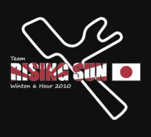 Team Rising Sun - Black Tshirt Version