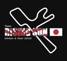 Team Rising Sun - Black Tshirt Version