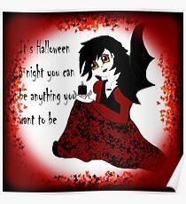 Anime Vampiress Poster