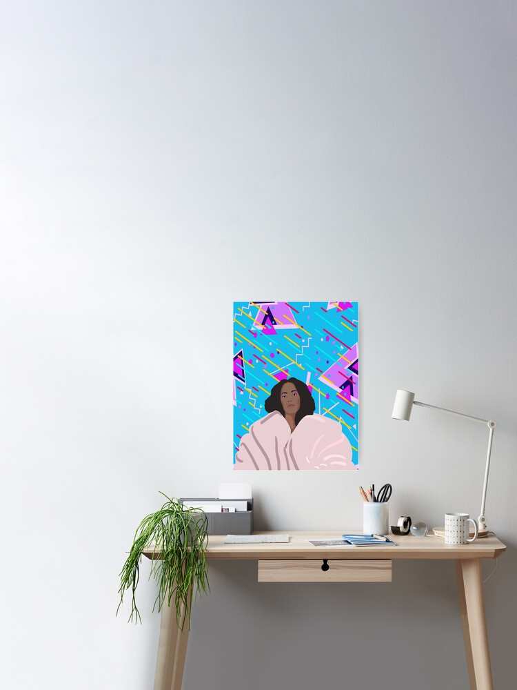 """Solange A Seat At The Table poster wall decoration photo print 24/"""" x 24/"""" inches"""