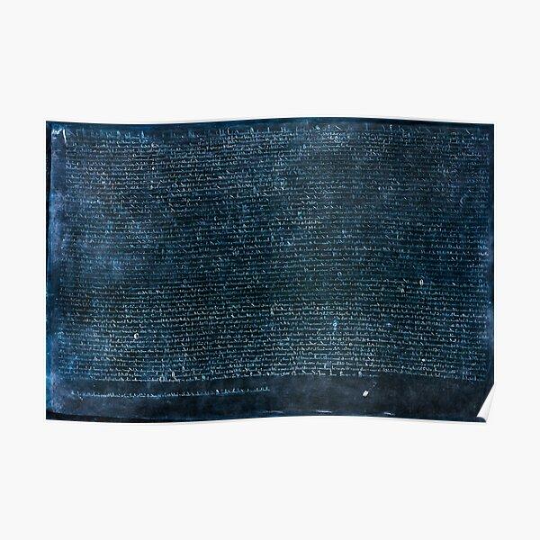 The Magna Carta Libertatum Poster