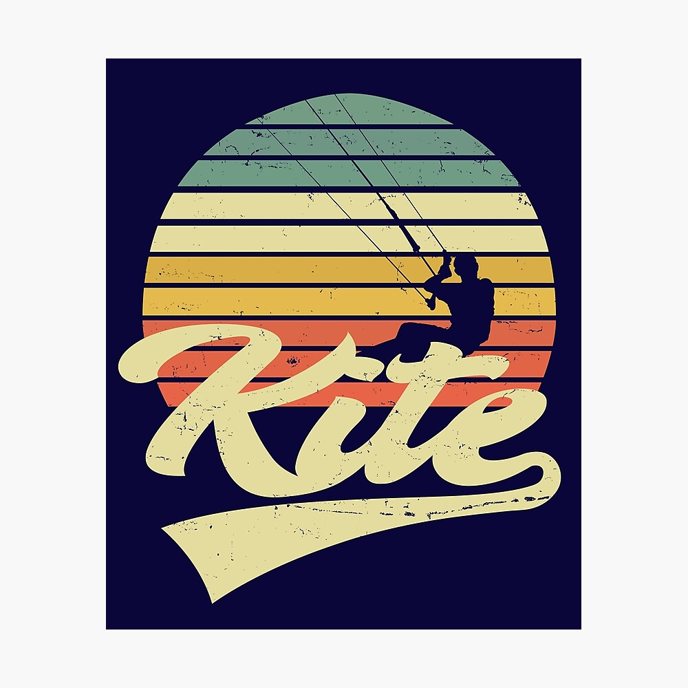 Cadeau De Kitesurf Vintage Kitesurfer Kitesurf T-Shirt