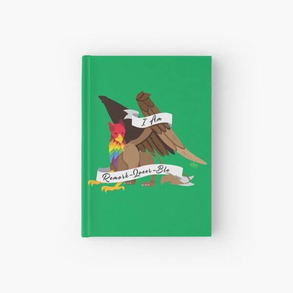 Remark-Queer-Ble Hardcover Journal