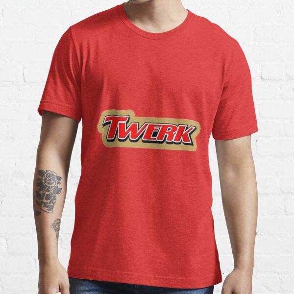 Twerk Twix Parody Logo Essential T-Shirt