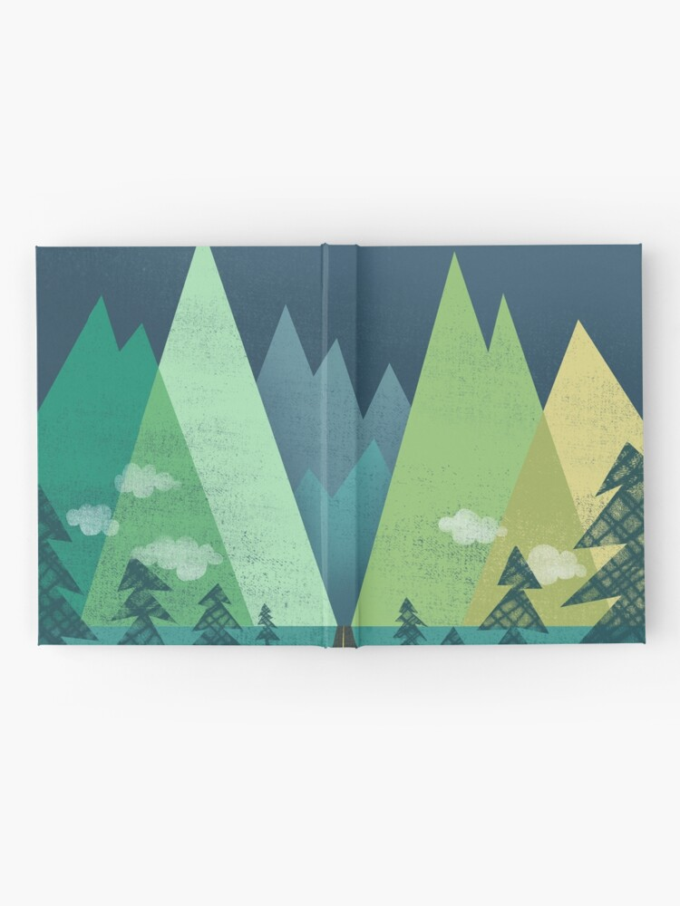 Alternate view of the Long Road at Night Hardcover Journal