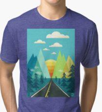 the Long Road Tri-blend T-Shirt