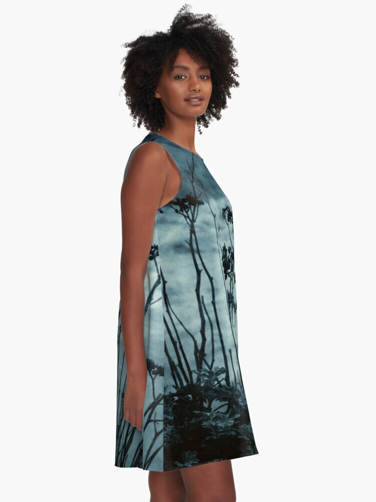 Alternate view of Midnight Dreams of the Sea A-Line Dress