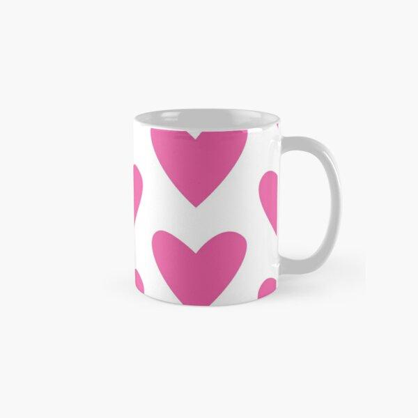 Pink Heart Classic Mug