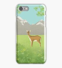 Alpine Meadow iPhone Case/Skin