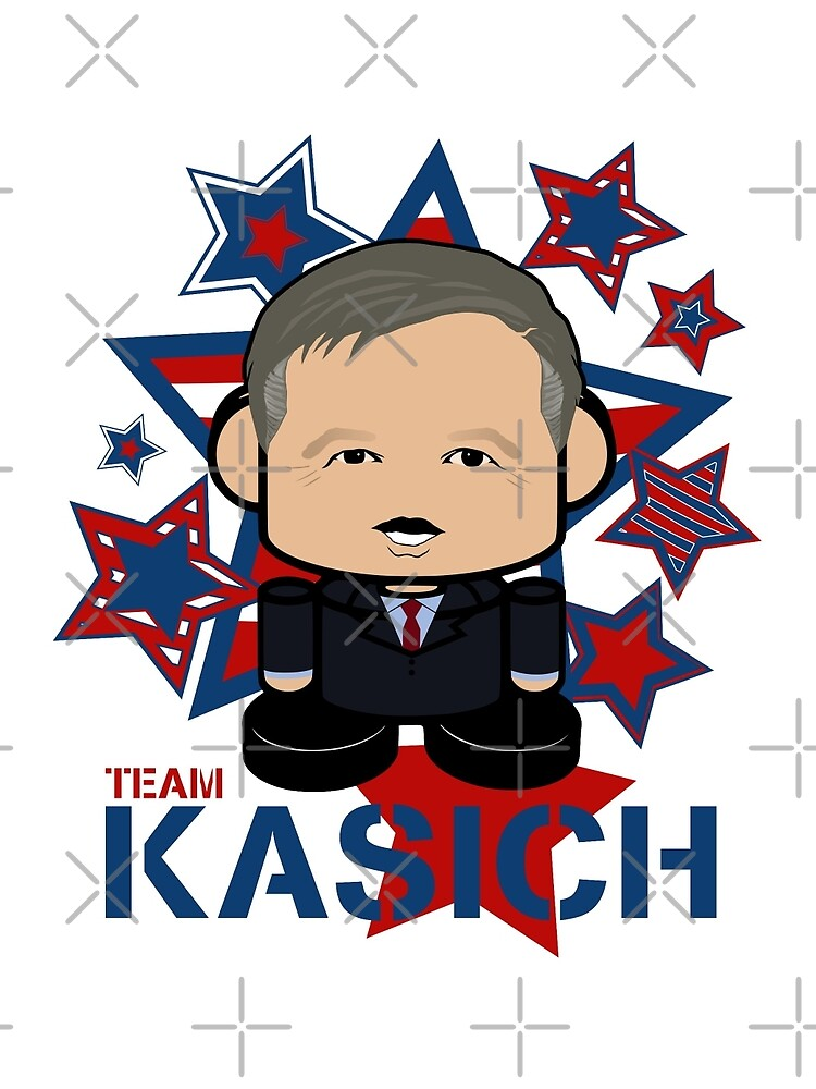 Team Kasich Politico'bot Toy Robot by carbonfibreme