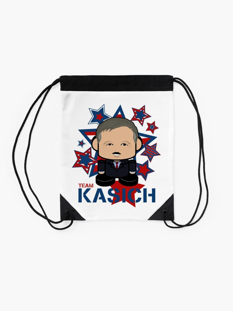 Alternate view of Team Kasich Politico'bot Toy Robot Drawstring Bag