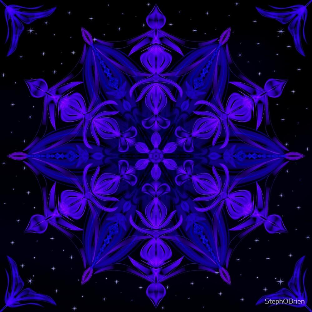 Crystal Blossom Adrift by StephOBrien