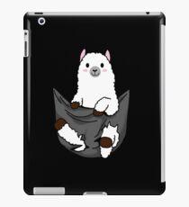 alpaca pocket tee gift iPad-Hülle & Klebefolie