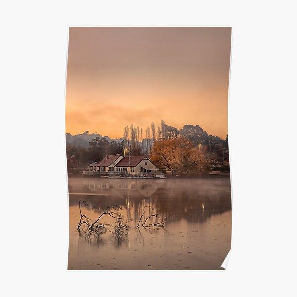 Daylesford morning glow  Poster