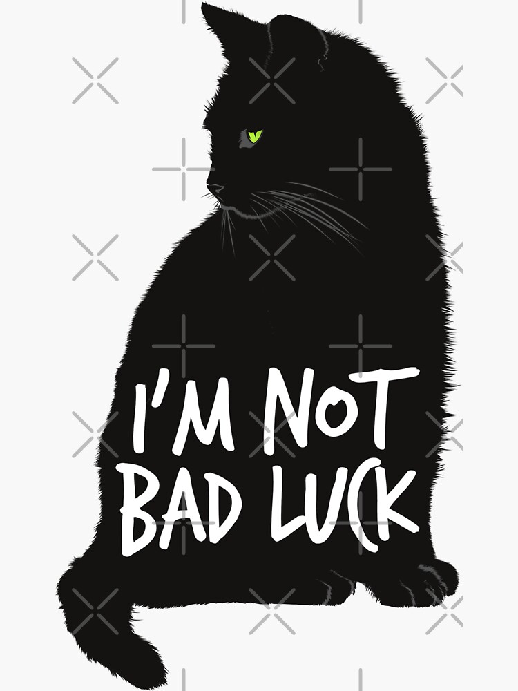 I'm Not Bad Luck - Black cats by with-theanimals