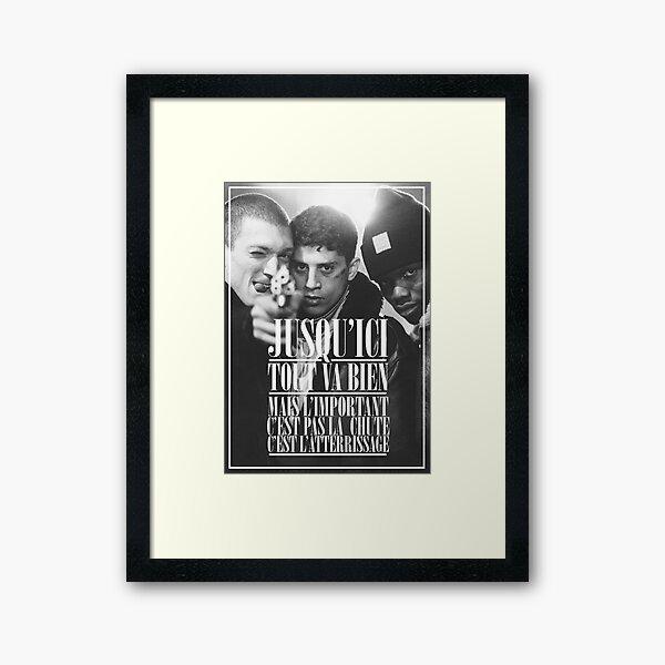 La Haine  Framed Art Print
